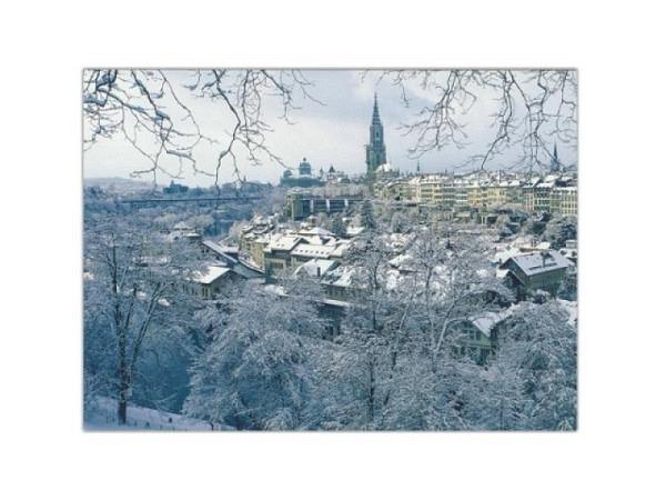 Karte Wefo-Verlag Winter Bern 5er Box Altstadt 10,5x14,7cm