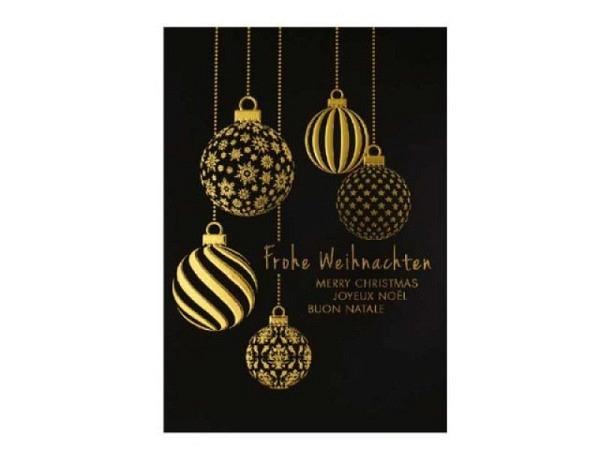 Weihnachtskarte Borer Denkmal 5er Box 17x11,5cm