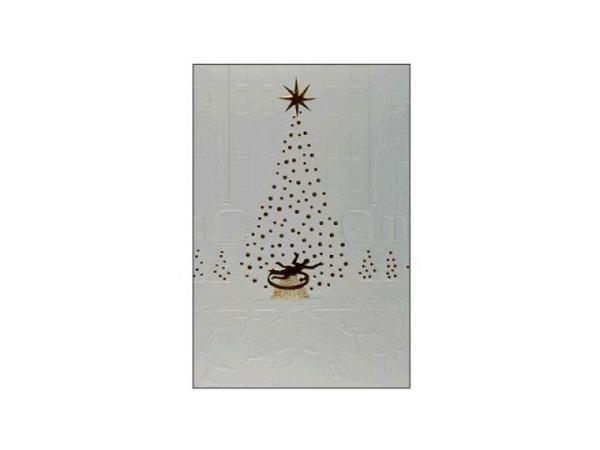 Weihnachtskarte ABC Herzen 12x17,5cm