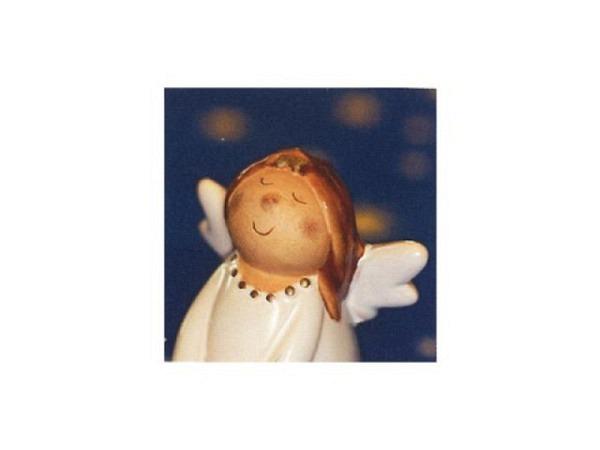 Weihnachtskarte Art Bula 12,2x12,2cm Engel die fröhlich sind