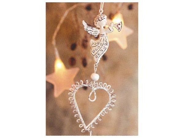 Kartenbox Art Bula 5er Set Weihnachtsdeko mit Engel und Herz