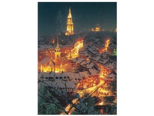 Weihnachtskarte ABC Bern von oben
