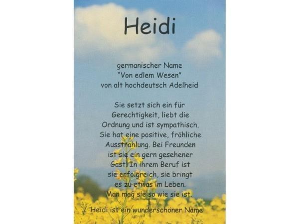 Karte Elite Namenskarte Heidi 11,5x17cm<br>
