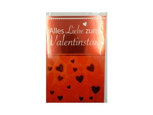 Valentinstagskarte AvanCarte Alles Liebe.