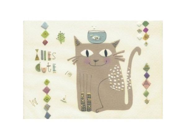 Glückwunschkarte Turnowsky Herzluftballone 17,6x12,5cm