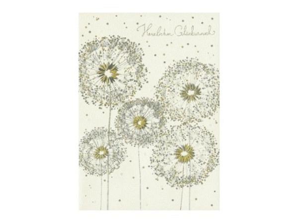 Glückwunschkarte Turnowsky Mini Champagner