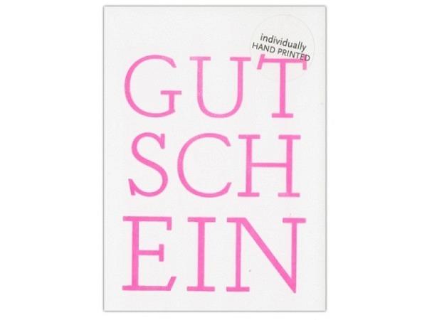 Gutscheinkarte 1730 Gutschein 10,5x15cm