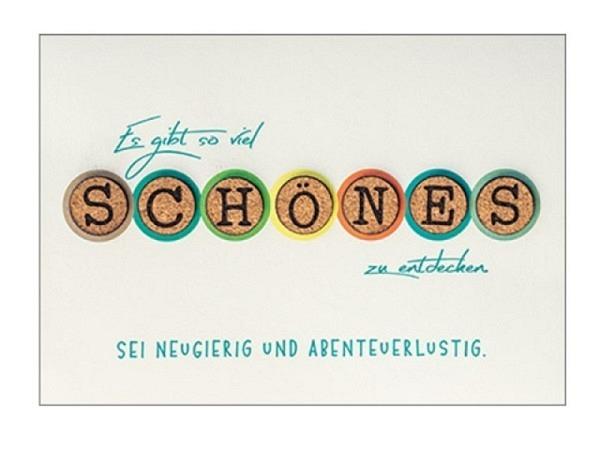 Abschiedskarte Borer Smileys 11,5x17cm
