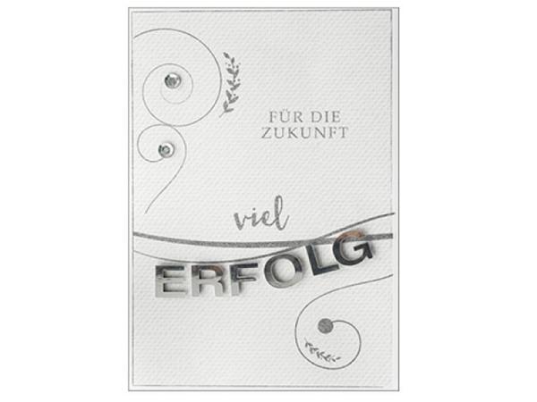 Abschiedskarte Hartung Best Words für die Zukunft viel Erfolg, Doppe..