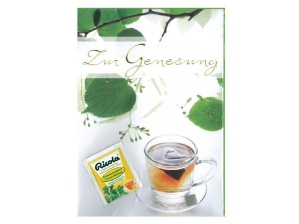 Genesungskarte Borer Teatime 21x29,7cm