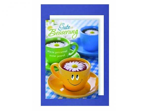Genesungskarte AvanCarte Teetassen