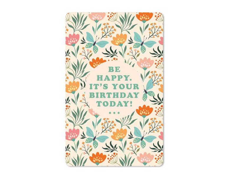 Postkarte Hartung Intouch 10 4x14 8cm Geburtstagskarte Ein Neues