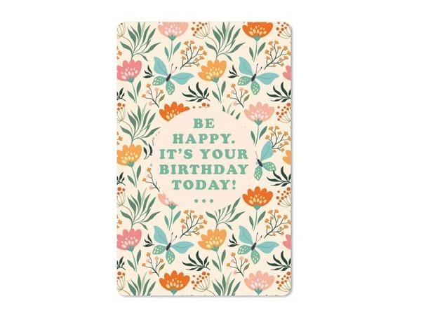 Postkarte Hartung InTouch 10,4x14,8cm Geburtstagskarte Ein neues Lebensjahr
