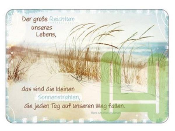 Postkarte Hartung InTouch Der grosse Reichtum unseres Lebens