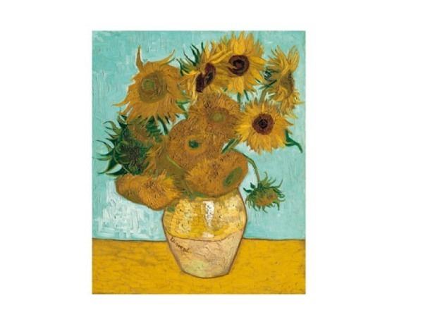 Postkarte Reiter Kunstkarten Van Gogh Vincent Sonnenblumen