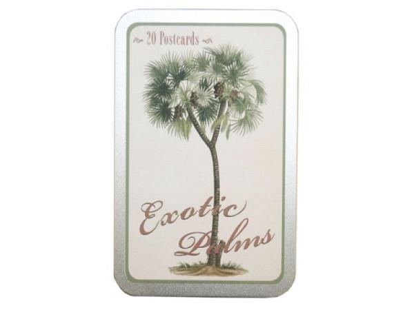 Postkarte Sköna Ting Exotic Palms A6, 20 Postkarten in vier Motiven ..