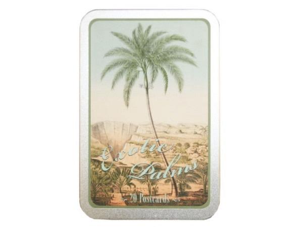 Postkarte Sköna Ting Exotic Palms A6, 20 Postkarten in zwei Motiven ..