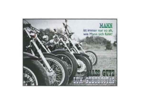 Postkarte Gollong A6 Geburtstags Mann 10,5x14,8cm