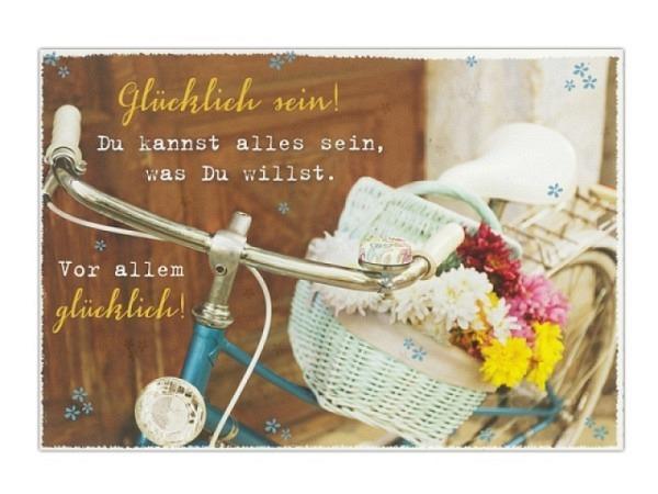 Postkarte Hartung InTouch 10,4x14,8cm, Zur Hochzeit, Liebe ist: Gemeinsam zu träumen, gemeinsam zu l