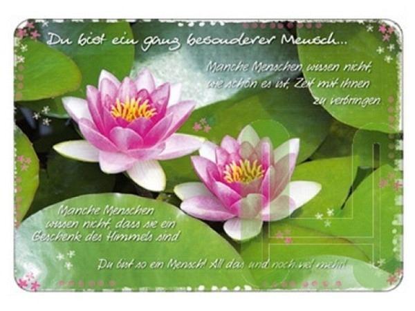 Postkarte Hartung InTouch Du bist ein ganz besonderer Mens..