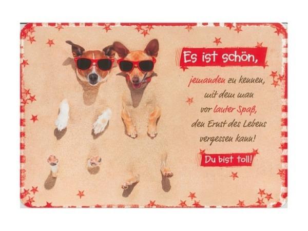 Postkarte Hartung InTouch 10,4x14,8cm Du bist toll!