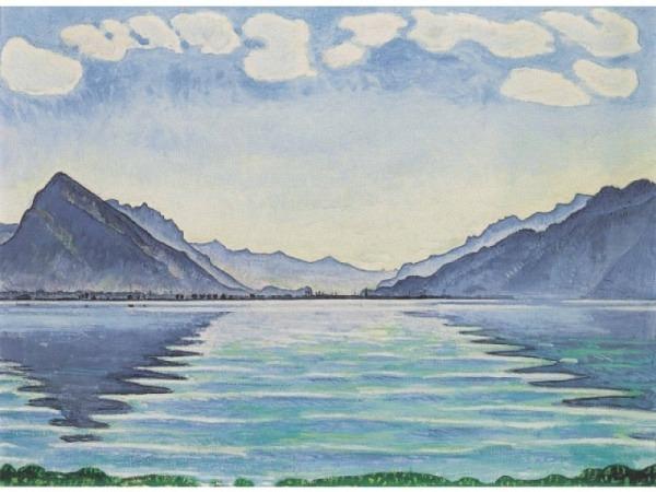 Postkarte Kunstverlag Ferdinand Hodler Der Thunersee…