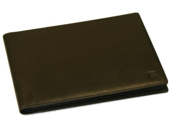 Fotoalbum GCF Leder 17x12cm schwarz, für Fotos 10x15cm