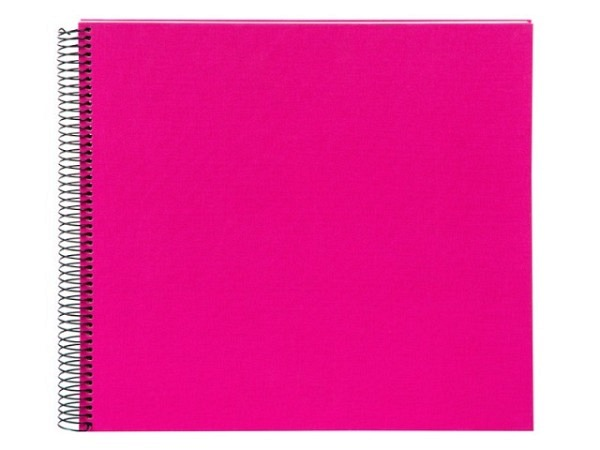 Fotoalbum Goldbuch Bella Vista Spiralalbum 34x30cm White pink
