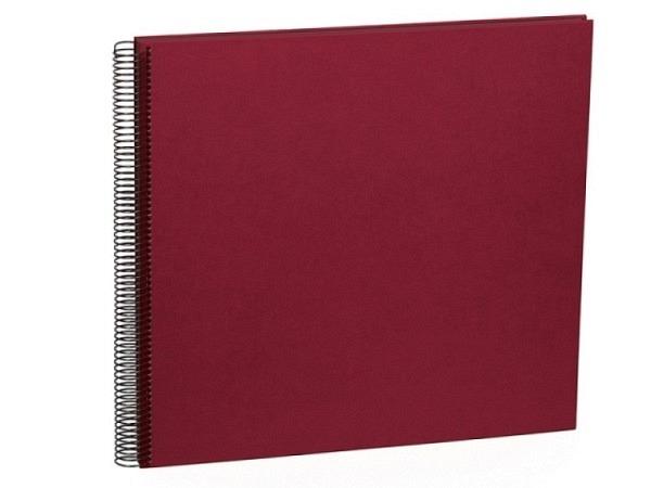 Fotoalbum Semikolon Economy Large 34,5x33cm Black bordeaux