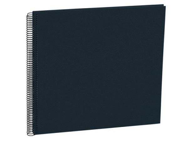 Fotoalbum Semikolon Economy Large 34,5x33cm Black schwarz