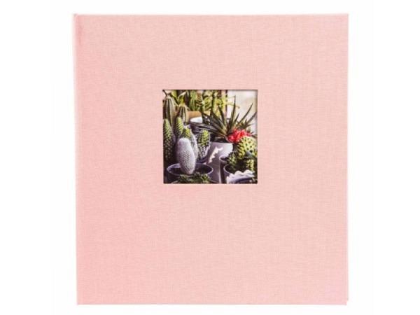 Fotoalbum Goldbuch Bella Vista gebunden 30x31cm rosé