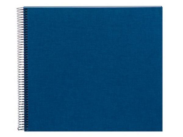 Fotoalbum Goldbuch Bella Vista Spiralalbum 34x30cm White blau