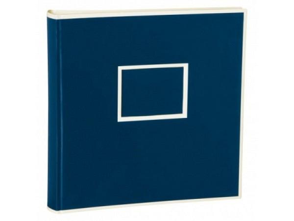 Fotoalbum Semikolon Jumbo 30x30cm marineblau mit beige