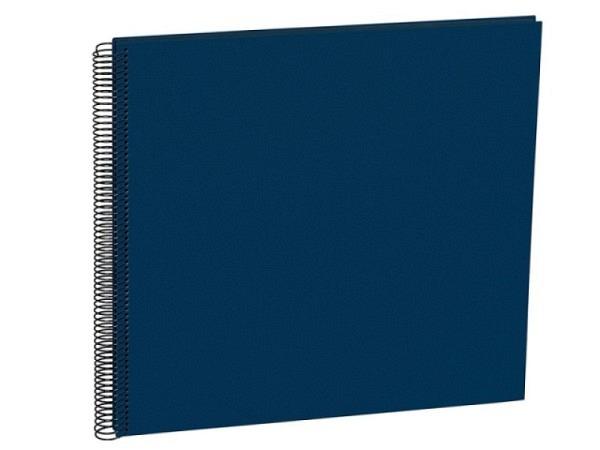 Fotoalbum Semikolon Economy Large 34,5x33cm Black marineblau