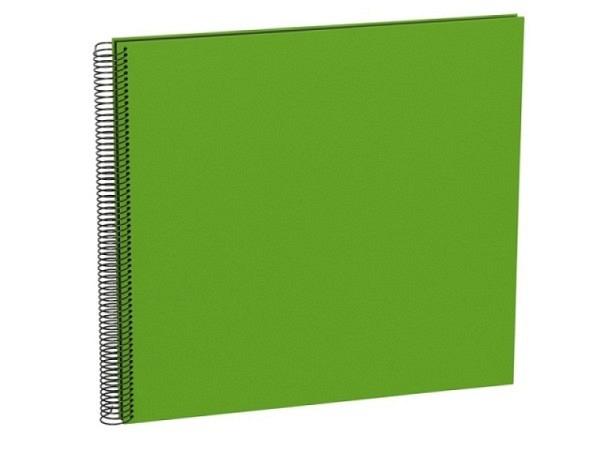 Fotoalbum Semikolon Economy Large 34,5x33cm Black limegrün