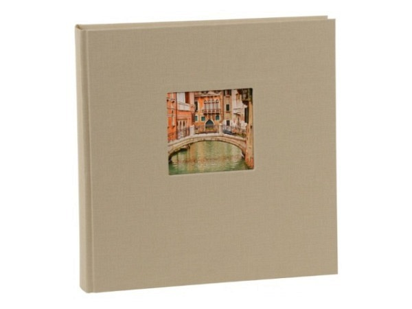 Fotoalbum Goldbuch Bella Vista gebunden 30x31cm lindgrün