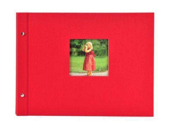 Fotoalbum Goldbuch Bella Vista Schraubalbum 39x31cm Black rot