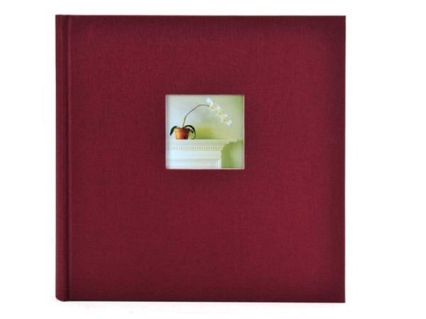 Fotoalbum Goldbuch Bella Vista gebunden 30x31cm bordeaux