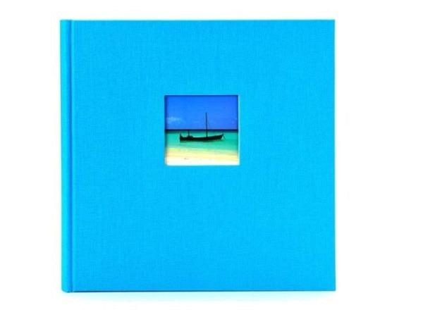 Fotoalbum Goldbuch Bella Vista gebunden 30x31cm türkis