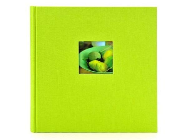 Fotoalbum Goldbuch Bella Vista gebunden grüner Leinen