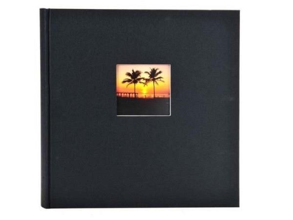 Fotoalbum Goldbuch Bella Vista gebunden schwarz Leinen