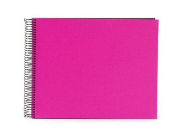 Fotoalbum Goldbuch Bella Vista Spiralalbum 34x30cm Black pink