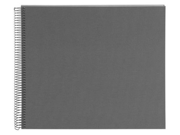 Fotoalbum Goldbuch Bella Vista Spiralalbum 34x30cm Black orange
