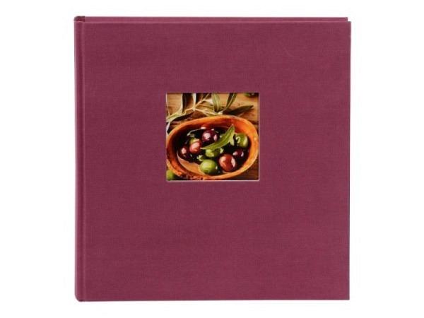 Fotoalbum Goldbuch Bella Vista Einsteckalbum lila Leinen