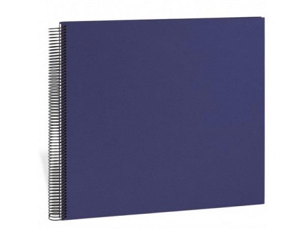Fotoalbum Semikolon Economy Large 34,5x33cm Cream marineblau