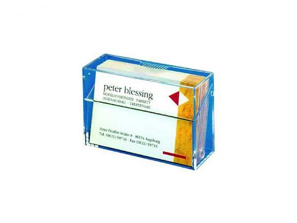 Visitenkartenbox Sigel transparent VA110 für ca. 100 Karten