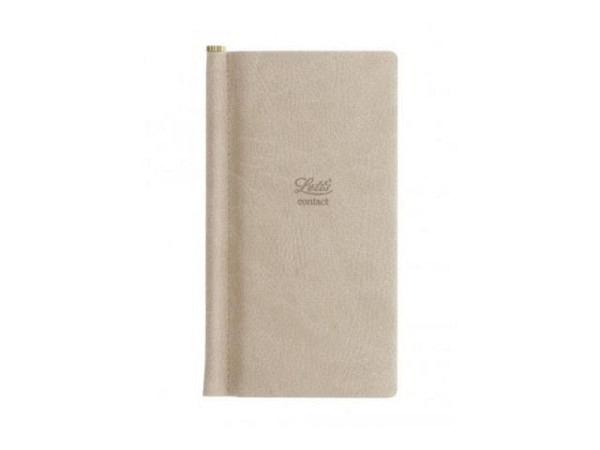 Adressbuch Moleskine A5 rot, Hardcover, liniert