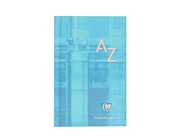 Adressbuch Moleskine A6 rot, Buchstabenregister A-Z,