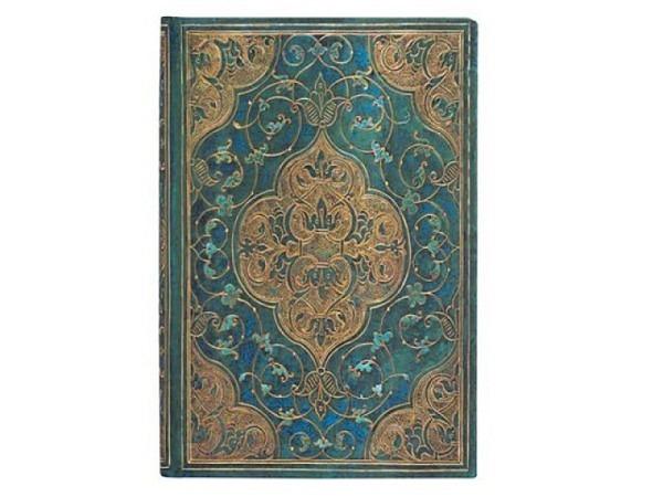 Adressbuch Paperblanks Ultra 18x23cm Seidenpracht grün