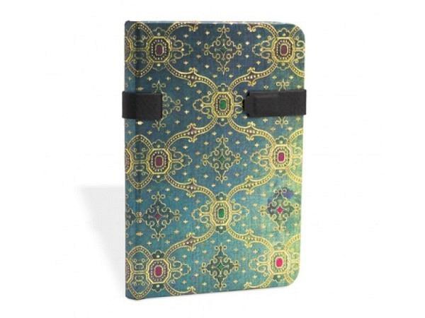 Adressbuch Paperblanks Mini Seidenpracht blau 9x14cm